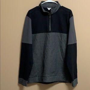Calvin Klein quarter zip sweatshirt.